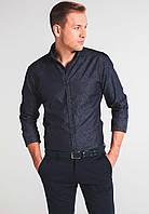 Мужская рубашка Eterna Серый 38