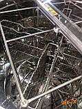 Медогонка автоматическая, синхронно-поворотная, 4 рамочная Дадан, фото 3