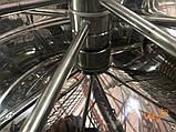 Медогонка автоматическая, синхронно-поворотная, 4 рамочная Дадан, фото 7