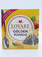 Чай зеленый Lovare, Golden Mango(Золотой манго)15*2г