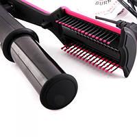 В отличие от щипцов с плоскими нагревательными элементами, Instyler керамический не «запекает» волосы, а укладывает их бережно.
