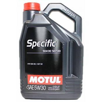Моторное масло Motull Specific 504.00-507.00 5W-30 5л