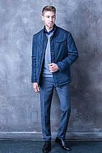 Куртка мужская W.E. синего цвета (размеры 46,48,50,52,54)