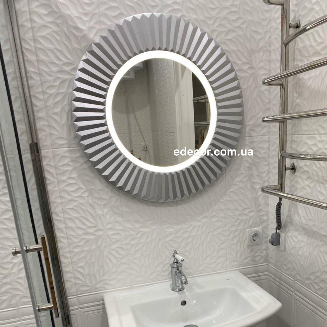 Дзеркало у ванну срібне Copenhagen K2