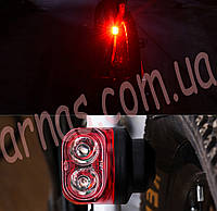 Фонарь велосипедный 10281 задний свет стоп