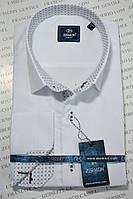 Приталенная рубашка ZERMON (размер XXXL)