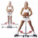 Фитнес тренажер Leg Magic подтягивает и тренирует внутреннюю и внешнюю стороны бедер, ягодицы, а также затрагивает нижние мышцы пресса.
