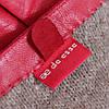 Перчатки кожаные женские de esse Красные, фото 5