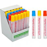 Клей силикатный 50 мл с губкой - Минимальный заказ 1 упаковка (36 штук)
