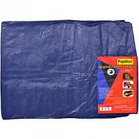 Тент водостойкий 4×5 метра, синий 65 г/м - Минимальный заказ 1 упаковка (1 штук)