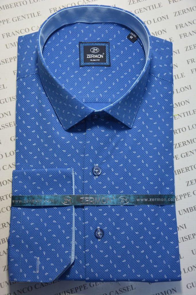 Приталенная рубашка ZERMON (размер M.XL)