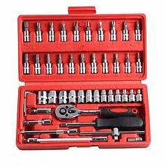 Набір інструментів 46 предметів Wrench Socket