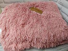 Плед покрывало меховое  Травка Мишка Страус Пушистик  Розовый
