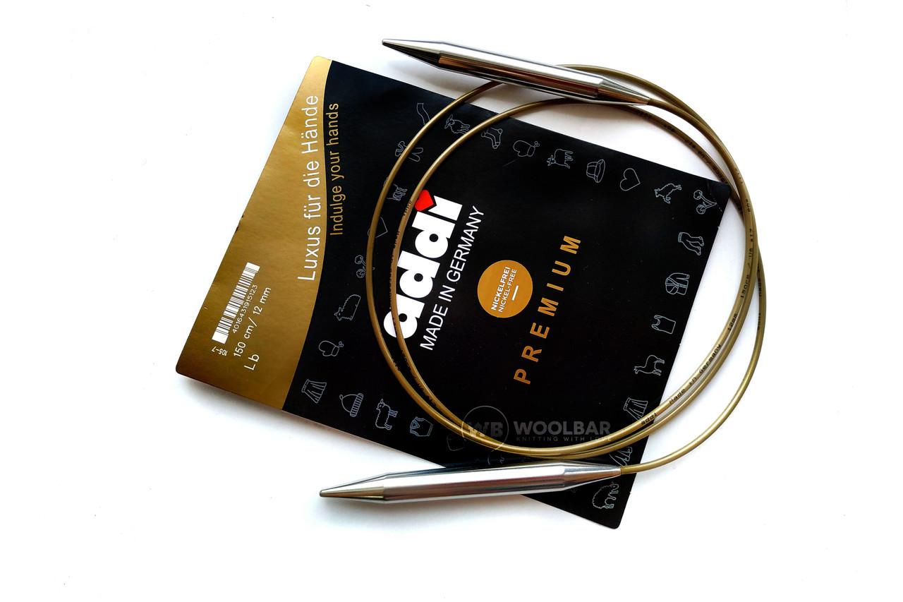 Addi 105-7/150-15.00 Спицы круговые супергладкие, 150 см, 15.00 мм