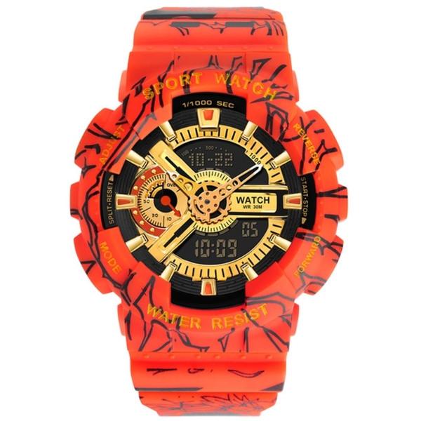 Sanda Мужские часы Sanda Red