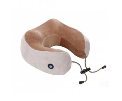 Массажная подушка с вибрацией и функцией памяти U-Shaped Massage Pillow Shake