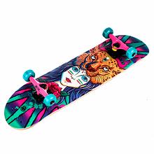 Скейтборд деревянный с рисунком 31 Fish Skateboard, Girl