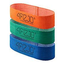 Резинка для фитнеса 4FIZJO Flex Band 3 шт 1-15 кг