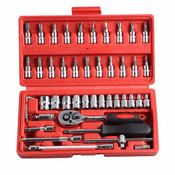 Набор инструментов 46 предметов Wrench Socket