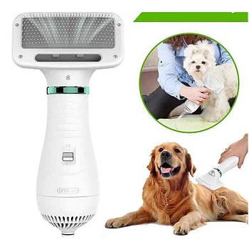 Фен-расчёска для шерсти Pet Grooming Dryer