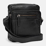 Мужская кожаная сумка Ricco Grande 1FSL-931-black, фото 2