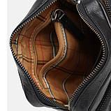 Мужская кожаная сумка Ricco Grande 1FSL-931-black, фото 5
