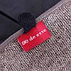 Перчатки кожаные женские de esse Темно-синие, фото 6