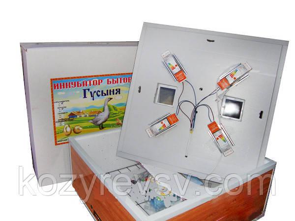 Инкубатор бытовой Гусыня ИБ-54 с автоматическим переворотом оптом и в розницу,доставка из Харьк