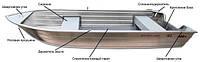 Лодка алюминиевая Smartliner 130