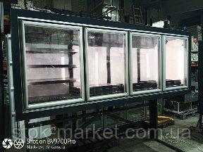Морозильный шкаф Технохолод ШХНД(Д) «Канзас HLT» 2,5 м. бу.