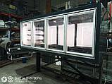 Морозильный шкаф Технохолод ШХНД(Д) «Канзас HLT» 2,5 м. бу., фото 3