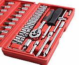 Набор инструментов 46 предметов Wrench Socket, фото 3