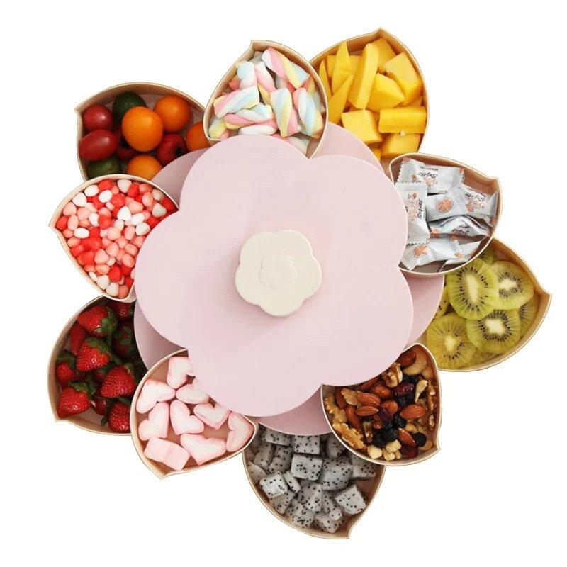 Универсальный органайзер для сладостей Candy Box 2 яруса