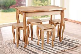 Стол обеденный Смарт нераскладной натуральный 100*60см