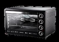 Электрическая духовка Liberton LEO-650 Black с конвекцией, грилем и подсветкой объем 65 литров