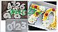 Шаблон трафарет двп для торта цифры разм 25*25 см цифра 5, фото 2