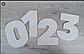 Шаблон трафарет двп для торта цифры разм 25*25 см цифра 5, фото 4