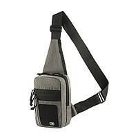 M-Tac сумка-кобура наплечная с липучкой Melange Grey