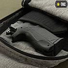 M-Tac сумка-кобура наплечная с липучкой Melange Grey, фото 7