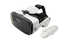 Очки виртуальной реальности с встроенными наушниками Authentic BoboVR Z4 White&Black + Controller