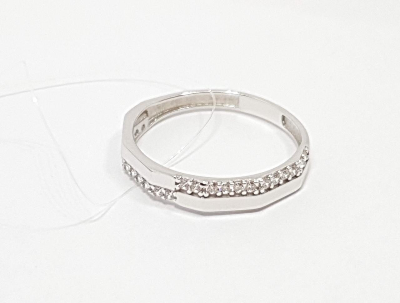 Серебряное кольцо с фианитами. Артикул 2751.1С 16