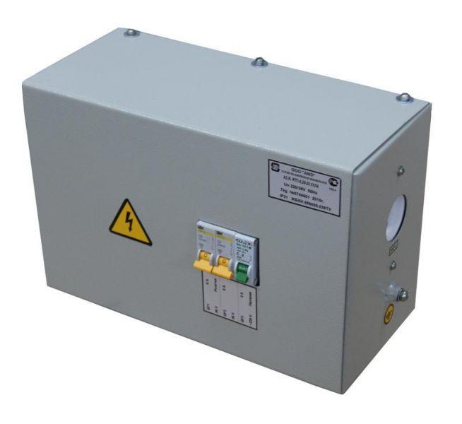 Ящик с понижающим трансформатором ЯТП-0,25 220/24-3 36 УХЛ4 IP30