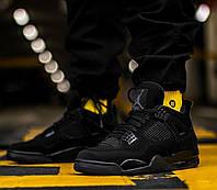 Мужские кроссовки Nike Air Jordan 4 Retro Black Cat