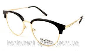 Имиджевые женские очки круглые Bellessa 110361-GS01