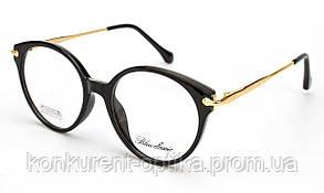 Имиджевые женские очки круглые Blue Classic B64108