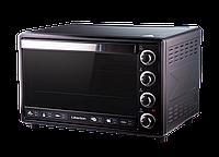 Электрическая духовка Liberton LEO-650 Black Mirror с конвекцией, грилем и подсветкой объем 65 литров