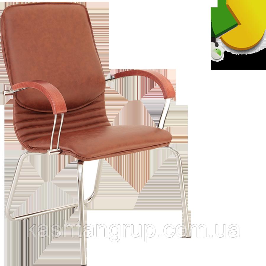 Кресло NOVA wood CFA LB chrome