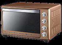Электрическая духовка Liberton LEO-651 Bronze Mirror с конвекцией, грилем и подсветкой объем 65 литров