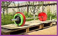 Штанга олимпийская 135кг,Олимпийская штанга в сборе,Олимпийский гриф,Штанги металлические Грифы Диски для дома