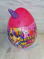 Большое яйцо пони (розовое) Креативное творчество Unicorn WOW Box UWB-01-01